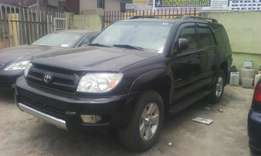 A Tokunbo Toyota 4runner 2004 model