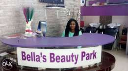 Receptionist needed in a Salon in Wuse 2.