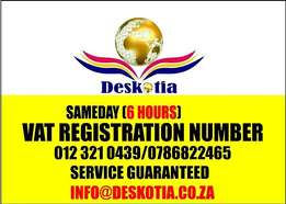Vat Registration is a guaranteed service in 1 DAY with Us