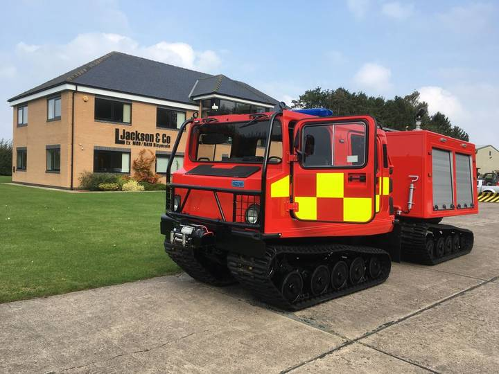 Hagglund BV 206 Fire Appliance fire truck