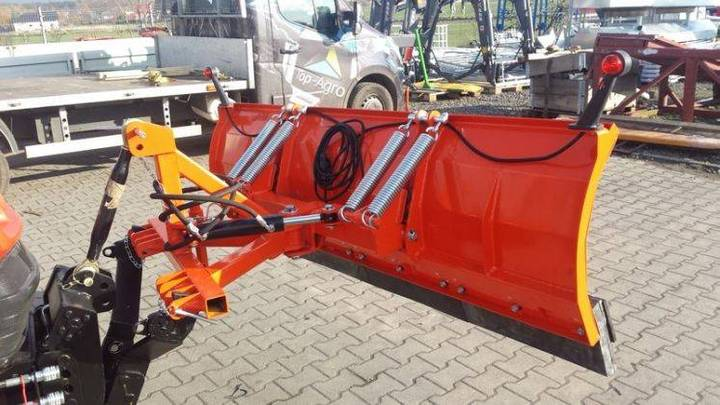 Top-Agro Snow Plow, Straight 1,85m + Hydraulic Steering - 2018
