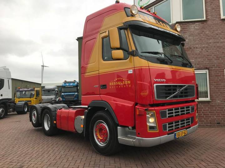Volvo Fh480 6x2 Manual Gearbox Holland Truck Top Condition - 2006