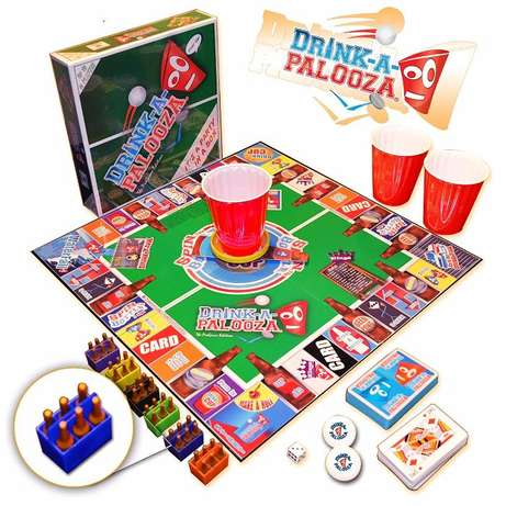 DRINK-A-PALOOZA Board Game: The Monopoly of Drinking Games! Parklands - image 6