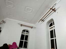 Curtain rods and accesories