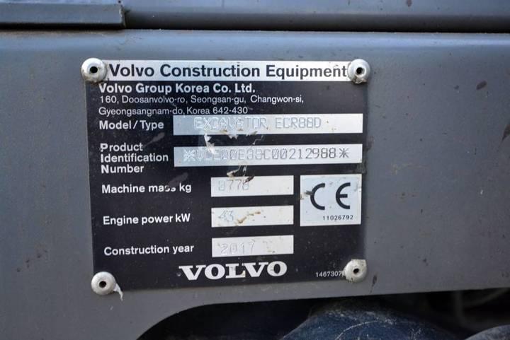 Volvo Ecr 88 D - 2017 - image 10