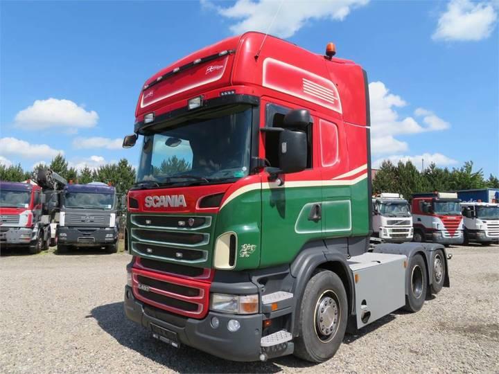 Scania R480 6x2 Topline Hydr. Euro 5 - 2013