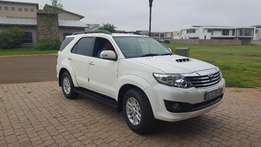 2014 Toyota Fortuner 3.0 D4D Automatic