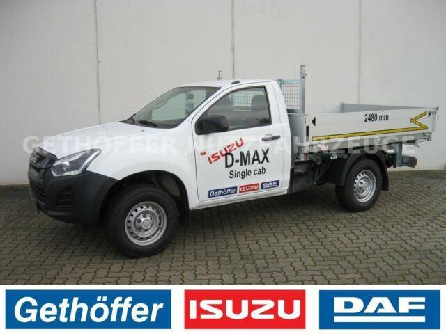 Isuzu D Max Single Cab 4x4 Kipper AHK Last 3,5t