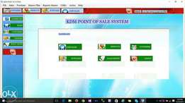 Point of sale system for stores and supermarkets only 80k