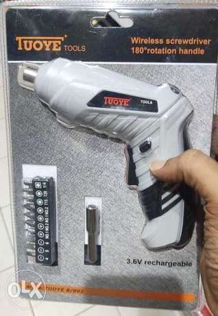 New Cordless Electric Screwdriver