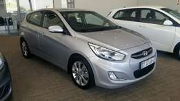 Hyundai Accent 1.6 Fluid Auto Hatchback 2015. Immaculate!