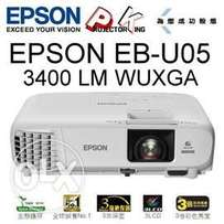 Full HD|Wifi|WUXGA Resolution|Epson EB-U05 Projectors now available
