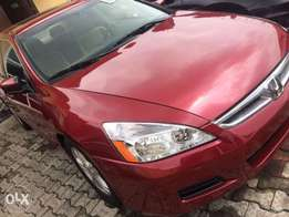 Honda Accord 2007 Red for sale