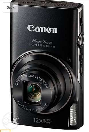Canon Camera PowerShot 360 HS South C - image 5