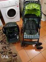 Stroller and car chair
