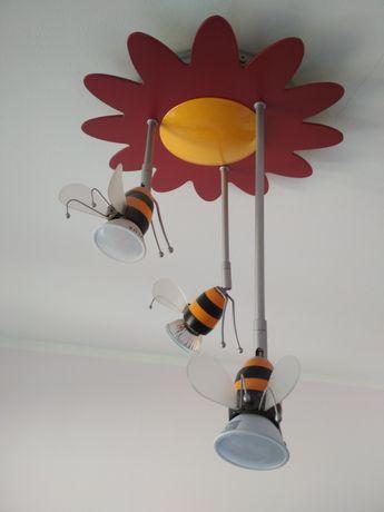 żyrandol Oświetlenie Dla Dzieci Kinkiet Kubuś Puchatek