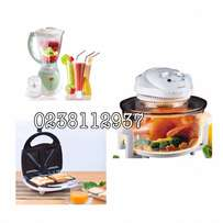 kenwood halogen oven+ kettle+ blender