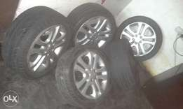 ford focus mags and tyres