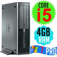 HP Compaq Core i5 Desktop Computer CPUs with 4GB Ram, 500GB