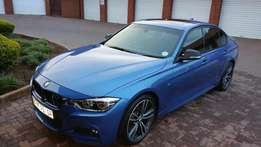 BMW F30 320d M Sport 2016 Face lift Estoril Blue