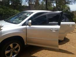 Silver Toyota Harrier