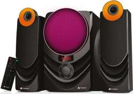 Audionic Rainbow R21 2.1 Channel Hi Fi speakers with FM radio