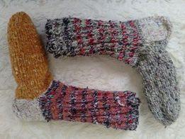 Вязані зимові носки (шкарпетки). b1e900156e36c