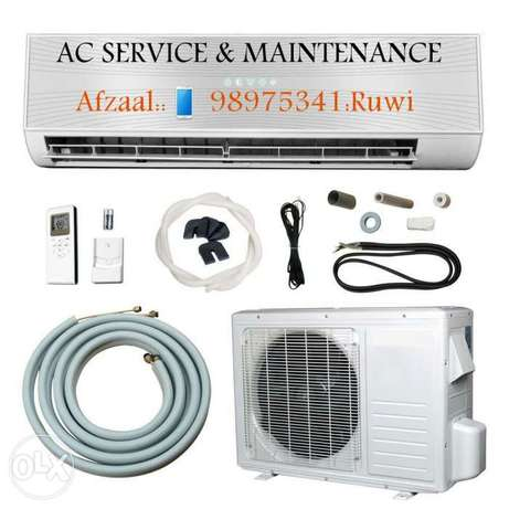 Ac service & fiting new and used