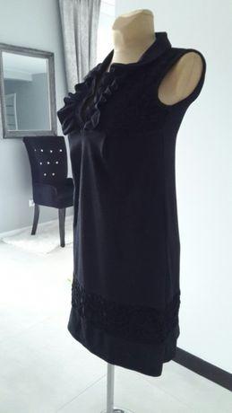 Atmosphere ***bawełniana czarna sukienka roz S 36 Nowa Dęba