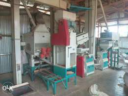 25 tons Rice milling plant.