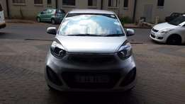 2013 Sliver Kia Picanto 1.0 Auto for sale