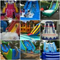 For hire water slide,slides,air balls,zorb balls,inflatables pools,etc