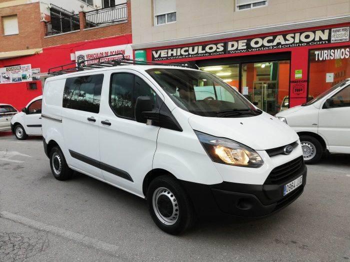 Ford Transit Custom Diesel De 5 Puertas - 2015