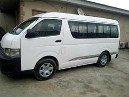 Almost New Toyota Hiace Bus 2012
