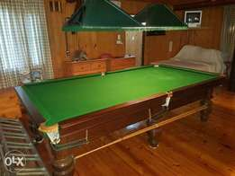 3 quater snooker table- exelent condition