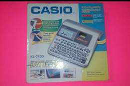 Offer on Casio labeling machine