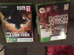 Call of duty black ops3 and medal of honor warfighter