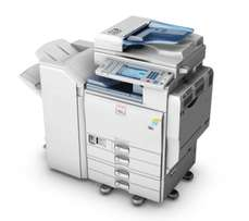 Ricoh Mpc5501A multifunctional copier with double scanner at 120k