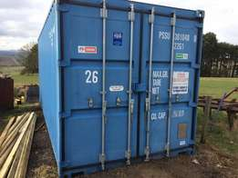 20ft container, no dings or dints or rust. Excellent condition.