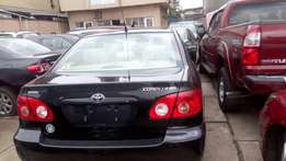 Foreign used Toyota Corolla (2006)