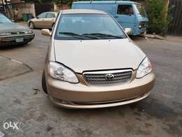 Clean corolla 2005 toks for sale