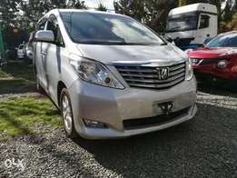 Extremely clean silver Toyota Alphad,2.4L fully loaded.