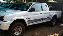 CLEARANCE SALE!!! 2001 Mitsubishi Colt 2.8TDI Clubcab bakkie for sale