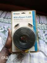 A/v and Power Cable Camera Accessory Pack