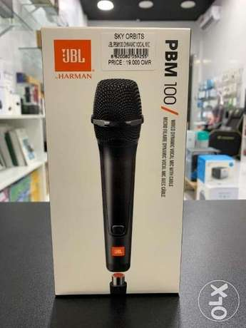 JBL PBM100 Wired Dynamic Vocal Mic with cable