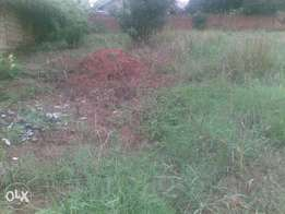 Four different plots of land for sale in Naalya.