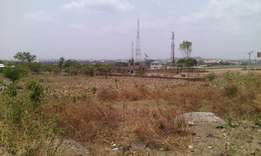 A filling station land on airport road