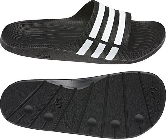 Klapki Adidas DURAMO SLIDE, rozm. 37 i 38 Łapy • OLX.pl
