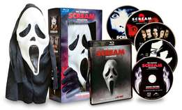 The complete scream collection (with mask & Blu-Ray)