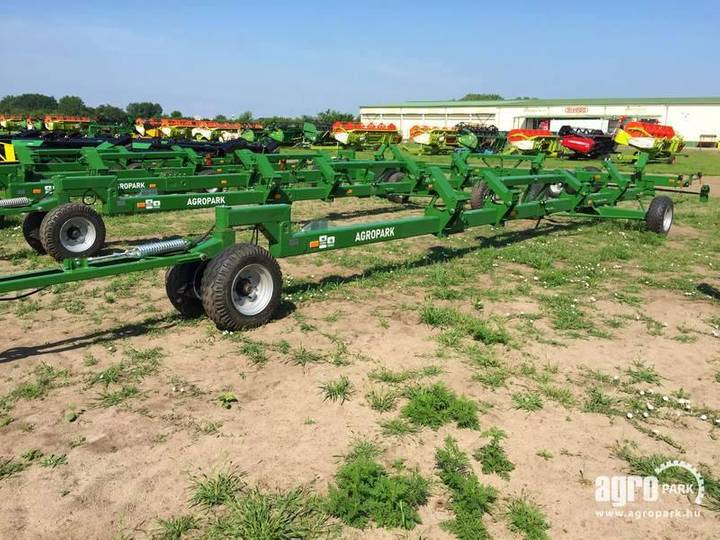 Agropark New Ff12f Trolley With Bogie Axle For 8,4 - 2019